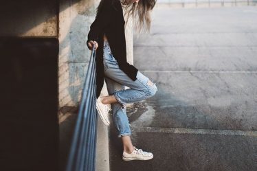 Jak nosić buty lanqier?